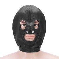 Adult Products Role Play Sex Toys For Couples Hood Mask BDSM Bondage Toy Bondage Restraint Hood Mask Fetish Hood