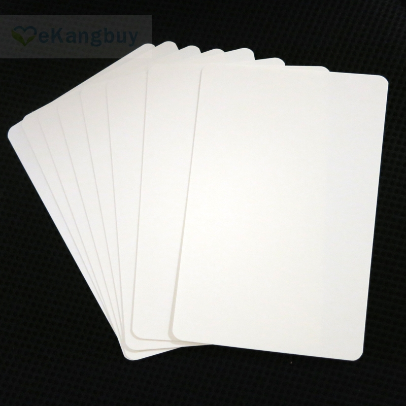 Free Scratch Cards >> Aliexpress.com : Buy 100sheets 350gsm Matte White Paper Cards DIY Bookmark Flashcards Sketch ...