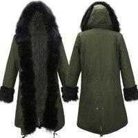 Hingh qualität! europa jacke frauen wintermantel frauen kleidung Mittel Lange Baumwolle Gefütterte warme Jacke mantel Hohe Qualität Parkas