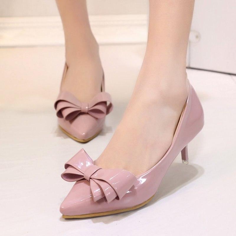 Popular Women Pink Low Heels-Buy Cheap Women Pink Low Heels lots ...
