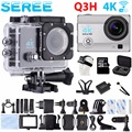Seree Original Go Waterproof Pro Action Camera Deportiva 4K Wifi Wireless Diving 30M Similar SJCAM4000 Gopro Style Car DVRs Q3H