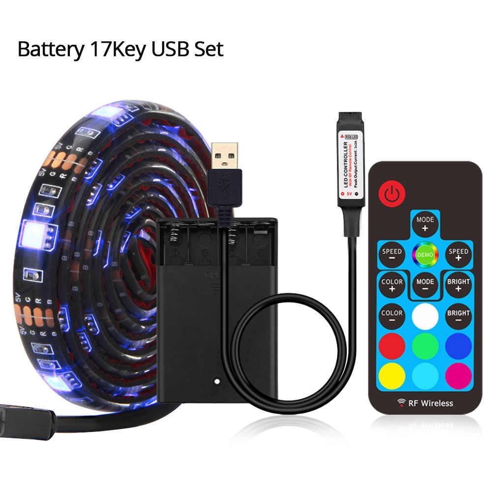 5V USB Led ストリップ 5050 RGB LED ストリップライト 5050 の Bluetooth 音楽ストリップ IP65 フレキシブルストリップ Led リボンテープテレビ背景照明