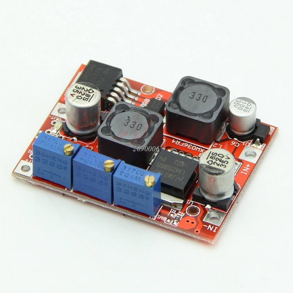 цена на LM2577S LM2596S DC-DC Step Up Down Boost Buck Voltage Power Converter Module