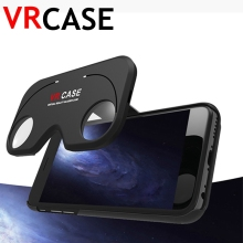 3D VR Glasses Phone Case For iPhone 6 6S Plus 6Plus Hybrid ABS and PC Virtual Reality Lens Cover Figment Aspheric optics