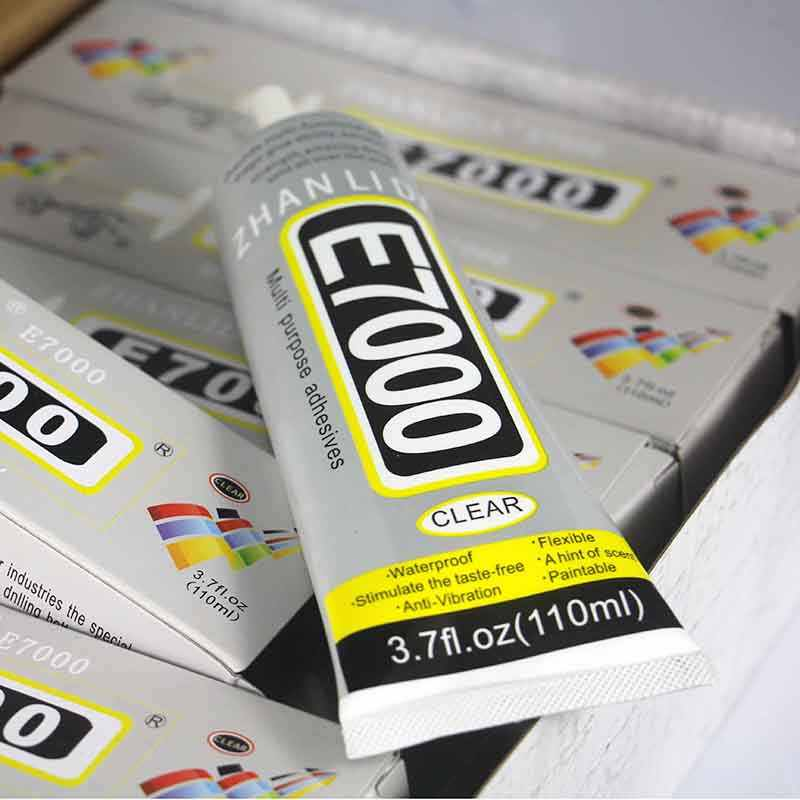 E7000 Glue 110ml Multi purpose E-7000 Jewelery Adhesive Diy Jewelry Crafts Glass Touch Screen Cell Phone Repair Stronger than B7