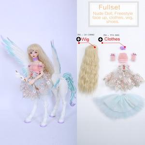 Image 5 - Fairyland Fairyline Lucywen BJD куклы 1/4 Minifee Centaur модная Фантастическая Женская лошадь полный комплект вариант alieendol Iplehouse