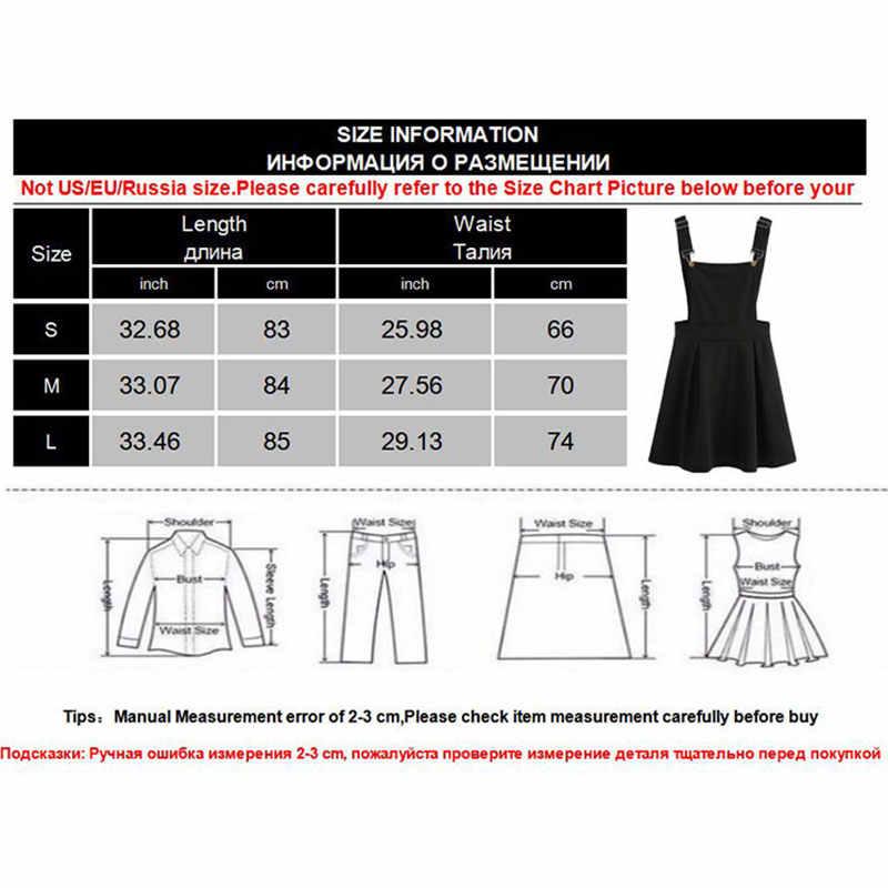 Verão feminino mini vestido de festa 2019 casual sem mangas zip up back pinafore vestido outono preto plissado vestido geral plus size