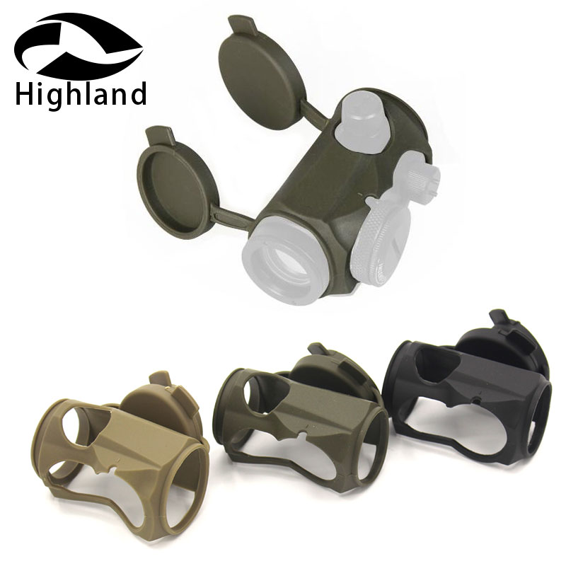 Tactical Protective Sleeve Reflex Sight Eye Relief <font><b>T1</b></font> <font><b>Red</b></font> <font><b>Dot</b></font> <font><b>Scope</b></font> Rubber Cover <font><b>Scope</b></font> Protective Holder -100% New brand Weight image