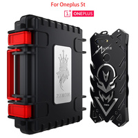 Oneplus 5t Case 6 01 Inch Zimon THOR IRONMAN Metal Armor Case For Oneplus 5t Shockproof
