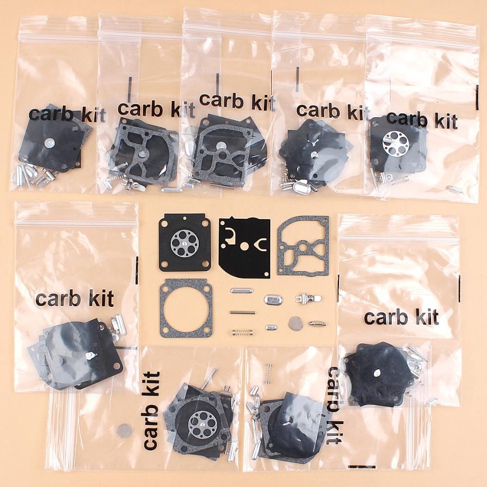 10Pcs/lot Carburetor Repair Kit For STIHL BG45 BG65 BG85 FH75 FC75 HT75 HL75 Blower Trimmer ZAMA C1Q-68 Carb RB-99 carburetor carb for stihl fs87 fs90 fs100 km100 fs110 km110 fs130 km130 ht130 trimmer engine spare parts zama c1q s173 s174 s176