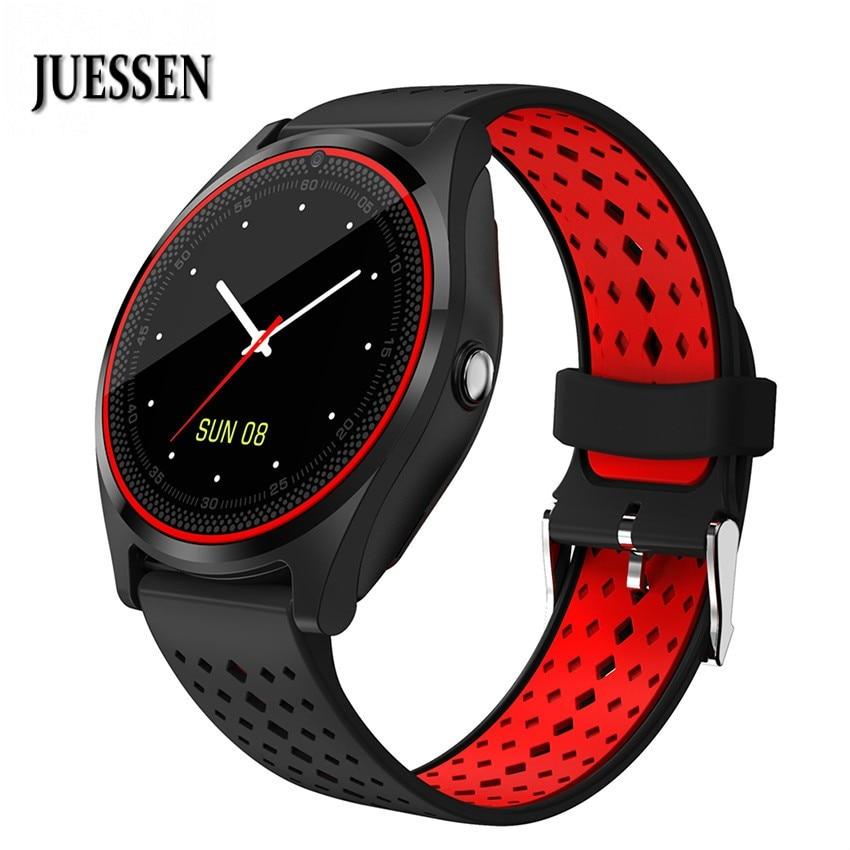 JUESSEN Smart Watches Bluetooth Smartwatch SIM TF Card Wristwatch For Android Camera BT Message Sports Pedometer JS19 PK A1 DZ09