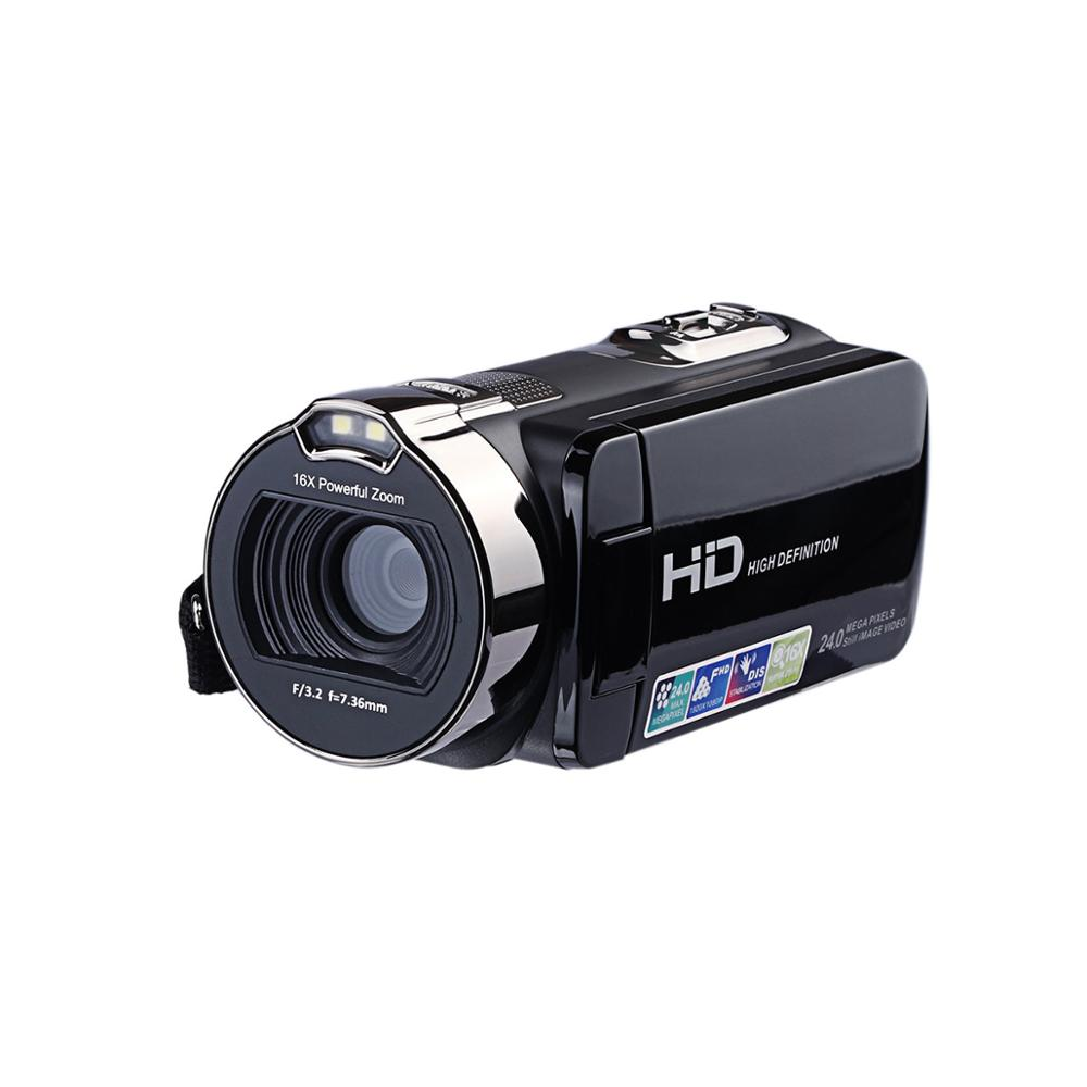 JRGK 312P Digital Camera 24MP HD 1080P 2.7 Recorder Cameras LCD Screen Camcorders 16x Powerful Digital Zoom Video DV CamcorderJRGK 312P Digital Camera 24MP HD 1080P 2.7 Recorder Cameras LCD Screen Camcorders 16x Powerful Digital Zoom Video DV Camcorder