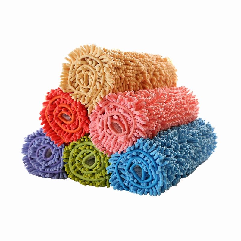 Bath Mat,Extra Soft and Absorbent Microfiber Shag Rug,Non-Slip Carpet for Bathroom Shower Chenille Mat