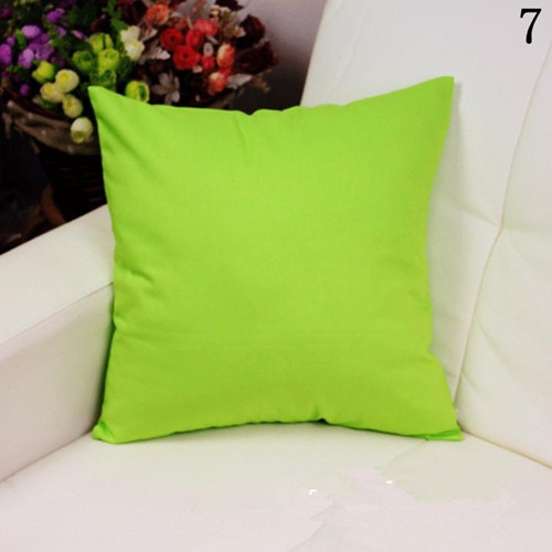 100% cotton canvas cushions spure green decor home sofa cushion  bed back rest cushion for watching tv
