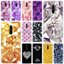 Hot Diamond Bling Soft Silicone Fashion Transparent Case For OnePlus 7 Pro 5G 6 6T 5 5T 3 3T TPU Cover