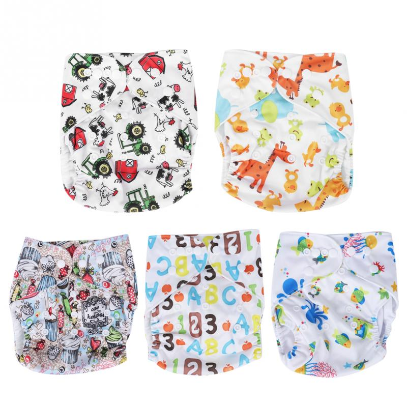 Hot Baby Super Soft Washable Reusable For Baby Real Cloth Pocket Nappy Diaper Cover Wrap, Suits Birth To Potty Size Nappy Diaper