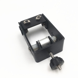 Image 2 - Funssor Creality CR 10 S4/S5 3D מדפסת מתכוונן Y ציר ערכת tensioner פלדה שחור צבע Y ציר עיתוי חגורה tensioner
