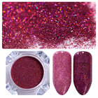 NICOLE DIARY Starry Nail Powder Pink Blue Green Purple Holographic Laser Nail Glitters Dust Manicure Nail Art Glitter Decoration