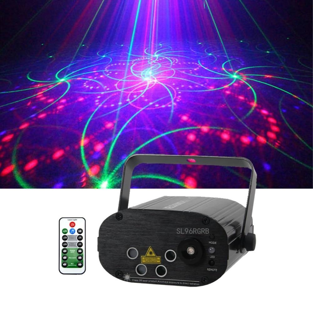 sharelife 4 lente mini 96 rgrb padrao musica luz laser dj partido home mostrar stage show