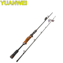 YUANWEI 1.98m 2.1m 2.4m Casting Fishing Rod 2 Section Power ML/M/MH Vara De Pescar Carbono Lure Rod Canne A Peche Fishing Tackle