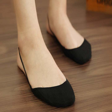 Summer Women Socks Cotton Fashion High Heels Female Breathable Invisible nude white gray black sox hot sale