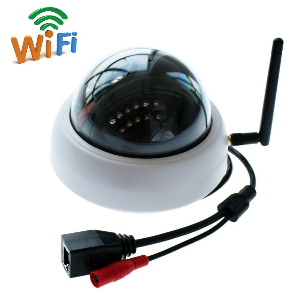 2.0 megapixel indoor mini  wireless dome IR  infrared p2p onvif Home Surveillance IP Camera wifi 1080P