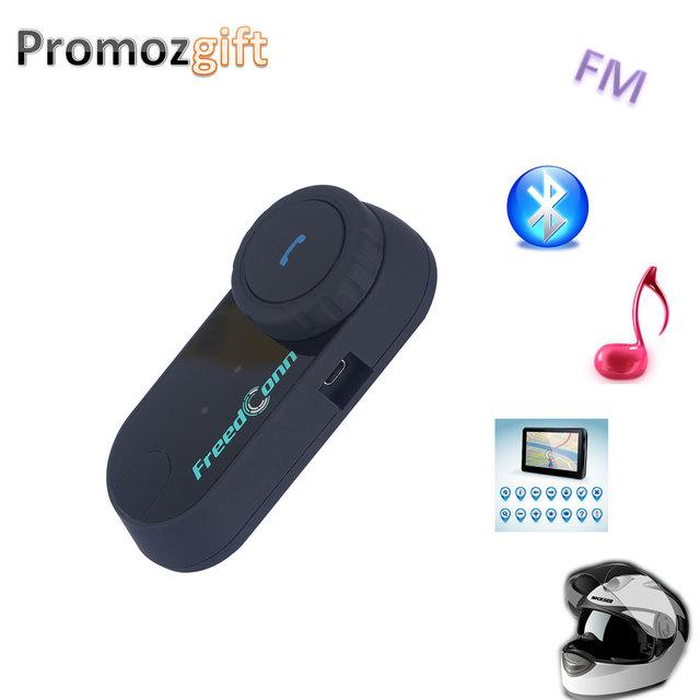 2016 com a Função de FM! 800 M 3 Pilotos Hi-Fi Speaker Motocicleta Capacete Do Bluetooth Interfone BT Bluetooth Sem Fio fone de Ouvido