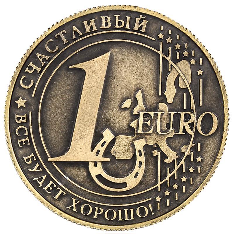 Lembrança popular do vintage réplica moedas/moeda euro/cópia moeda 1 euro antigo conjunto de moedas de bronze