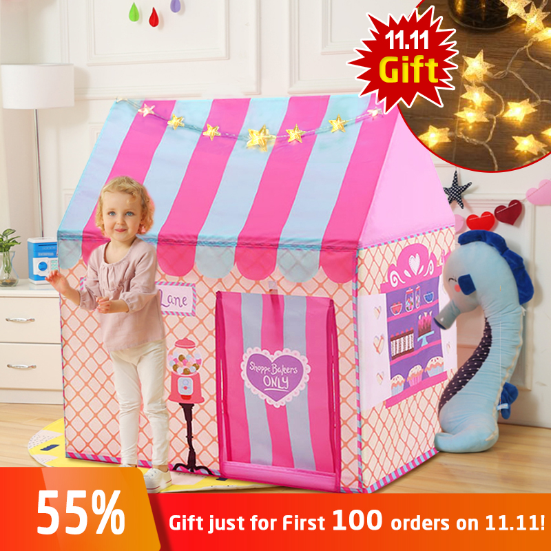 YARD Kids Toys Tents Kids Play Tent Boy Girl Princess Castle Indoor Outdoor Kids House Play Ball Pit Pool Playhouse for Kids baby foldable tents pink play house for camping kids ball pit outdoor toys