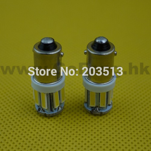 50pcs/lot 2014 new products cheap G14 H6W BA9S car led lamp 10 SMD 7014smd 10 leds 12v light bulb free shipping