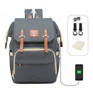Сумка для детских подгузников, рюкзак для мам, папы, USB, сумка для подгузников, водонепроницаемая сумка из ткани Оксфорд, сумки для кормления,...