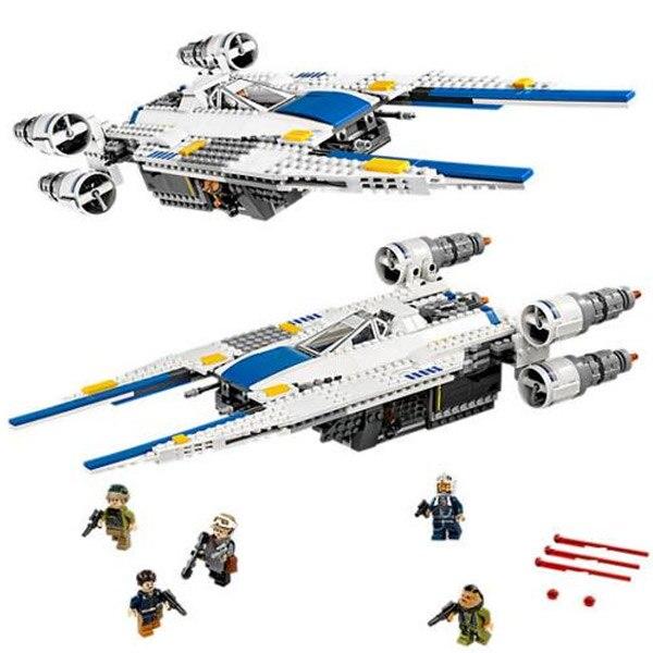 LEPIN 05054 Genuine Series The Rebel U-Wing Fighter Mobile Building Block 679Pcs Bricks Toys for Children 75155