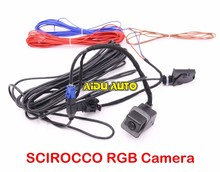 For VW RNS510 RCD510 RNS315 SCIROCCO RGB REAR VIEW CAMERA KIT
