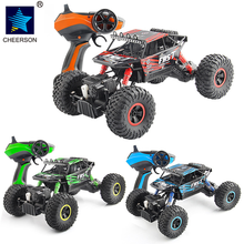 2.4G 4WD 1:18 Rrock Crawler Buggy Remote Control Racing Off Road Car Model Eletric Toys Gift
