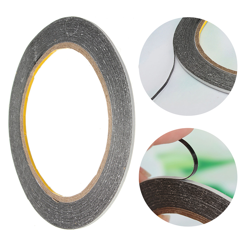 2MMx10m thick 0.3mm Sticker Double Side Adhesive Tape Fix For Cellphone Touch Screen LCD Mobile Phone Repair Tape szbft 1mm black brand new 3m sticker double side adhesive tape fix for cellphone touch screen lcd free shipping