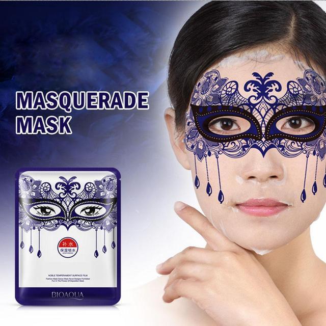 4 Colori Face Care Fashin del partito maschera di bellezza tony molibdeno cura della pelle del viso maschera Umidità Sbiancamento Maschera 2016 di vendita Caldo!