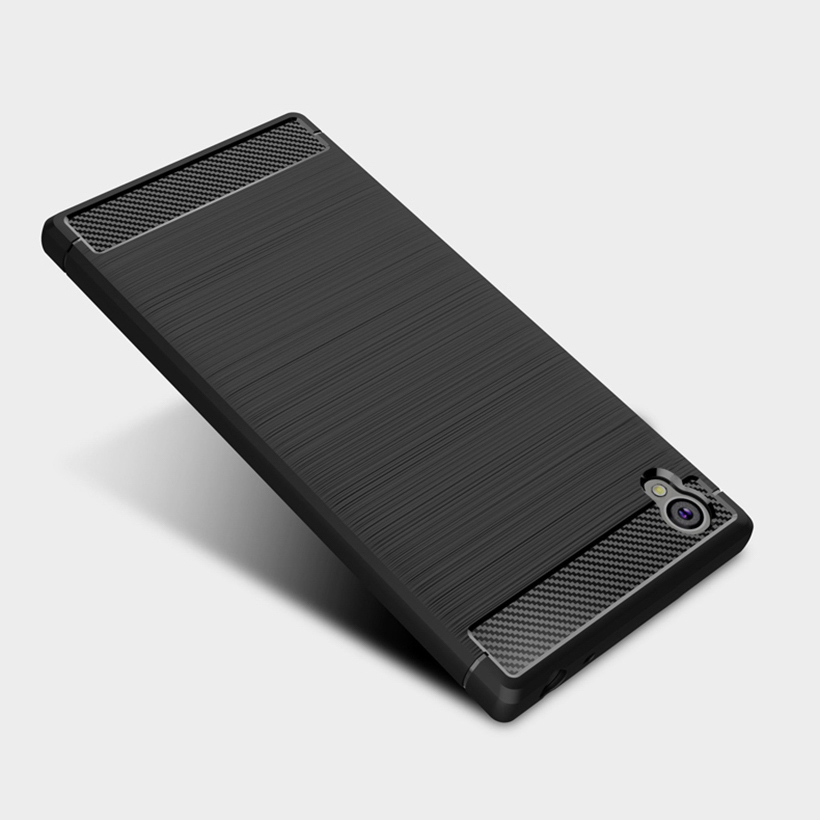 Case Carbon Fiber Sony Ultra Plus Covers