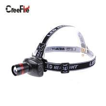 H1 Hot selling Mini LED Headlamp headlight 3 Mode Energy Saving Outdoor Sports Camping Fishing Head Lamp LED Flashlights Black