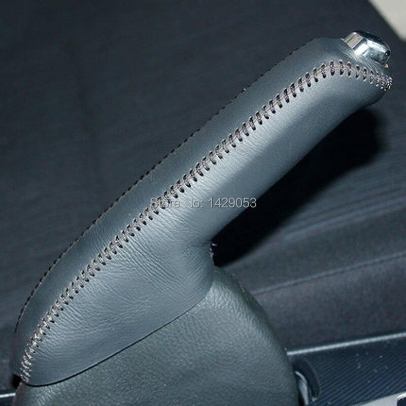 Case For Honda ACCORD 8 Handbrake Cover Genuine Leather Interior Decoration DIY Car Styling Auto Supplies
