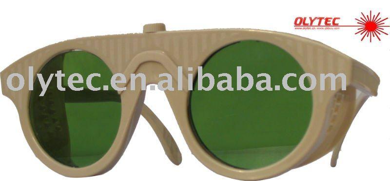 OLY-LSG-15 680-1100nm laser safety glasses ,CE, O.D 4+ Good V.L.T % oly lsg 14 600 1100nm laser safety glasses ce o d 4 good v l t