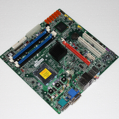 Motherboard for Q45T-CM DDR3 with DVI well tested working sinbo svc 3465 black