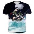 Classic Anime Naruto T Shirts Hipster Galaxy 3D t shirt Men Women Harajuku Tee Shirt Cool Kakashi tshirts tees tops