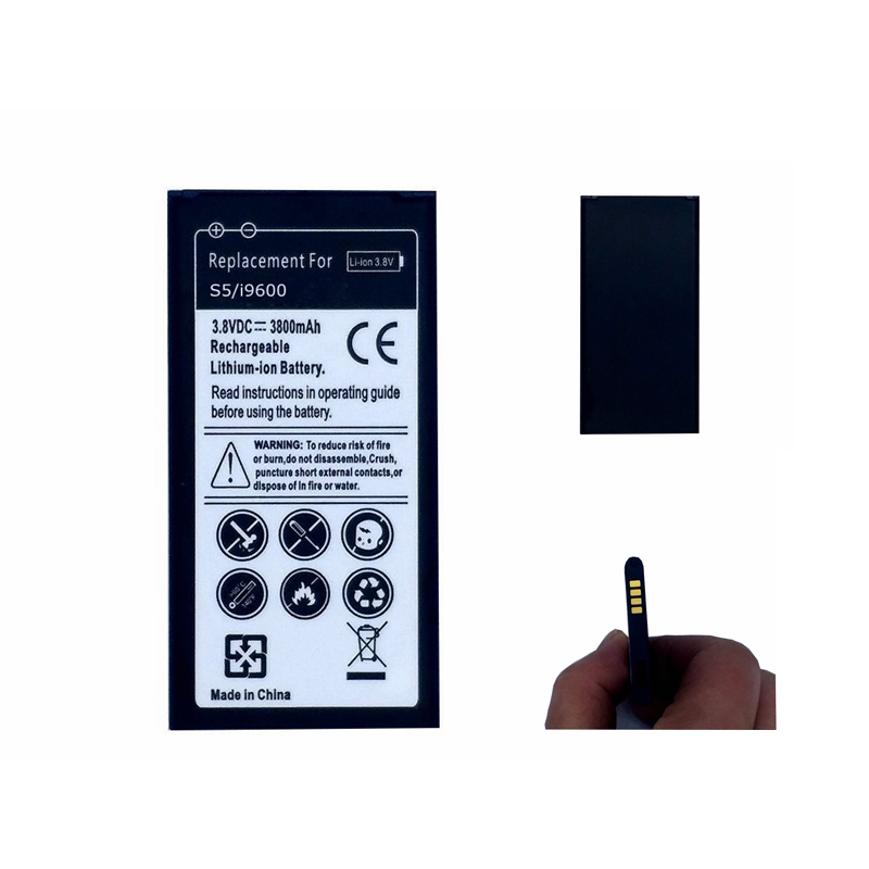 Phone Battery for Samsung Galaxy S5 G900S G900F G9008V 9006v G900 <font><b>G870</b></font> G870A 9008W 9006W S 5 Rechargeable batteries EB-BG900BBC image