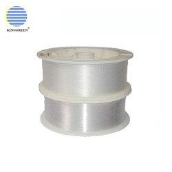 Горячая продажа волоконно-оптический рулон светящийся PMMA Пластиковый волоконно-оптический конец светящийся кабель для оптоволоконного ос...