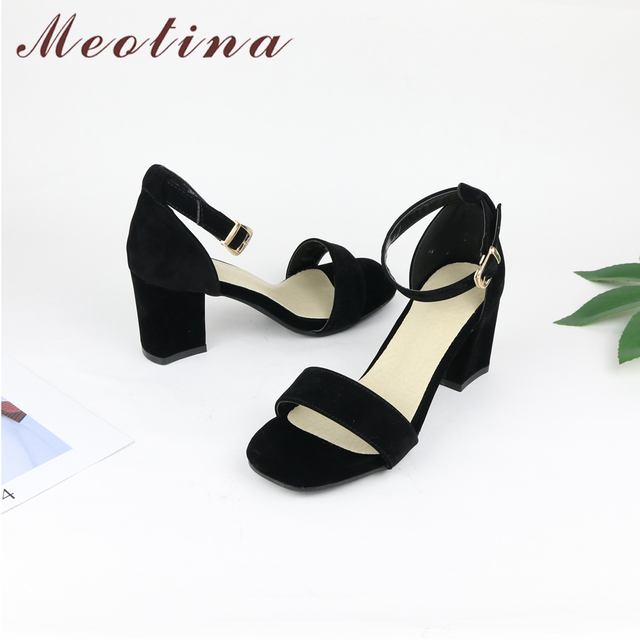 Women Shoes Sandals Summer Ankle Wrap Sandals High Heels