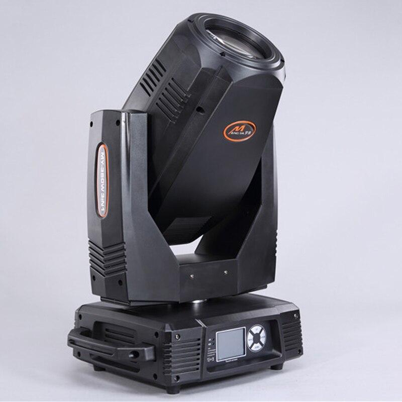Fase di illuminazione 350 W 17R Moving Head Sharpy beam spot wash 3in1 DJ Luce funzione di zoom fisso e rotazione ruota gobo flight case