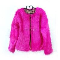 Fashion New Warm Faux Fur Fox Coat for Ladies Womensjacket Winter Parka Outerwear 10 Color Plus Size S M L XL (DX100) l1