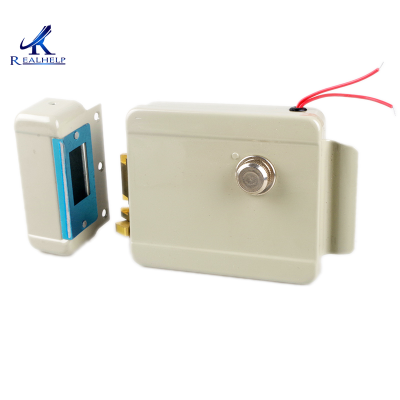 Left Right Open Lock Electric Door Lock Motor Drive Lock for Video Door Phone Access Control System Suitable for All door