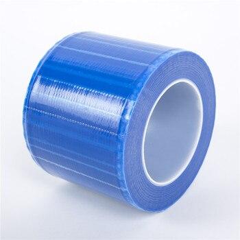 EMALLA-barrera de superficie para tatuaje microblading, película desechable de Color azul para...