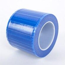 EMALLA microblading 1 תיבת קעקוע משטח מחסום חד פעמי סרט כחול צבע לאיפור קבוע accesorios קעקוע אקססוריז